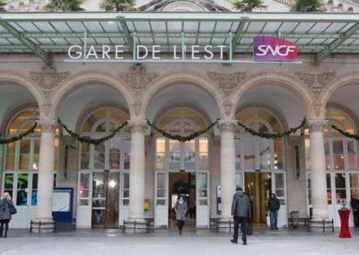 Gare de l'Est - Façade