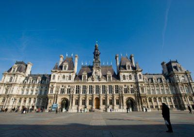 Hôtel de Ville Paris - Façade