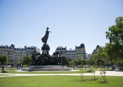 Place de la Nation Paris - Place