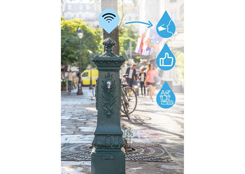 Défi libre: Des fontaines connectées et interactives